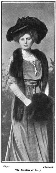 1908 Countess Kerry from The Bystander of 22 April 1908