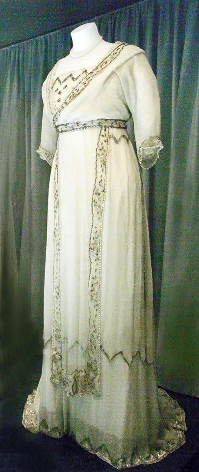 1908 Lucile wedding dress for Mabel Chapell From pinterest.com/purificacin/lucile-lady-duff-gordon/?lp=true