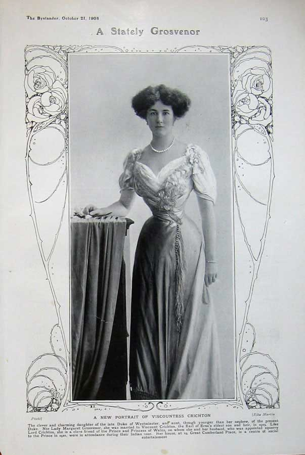 1908 Viscountess Crichton from www.prints-4-all.com