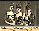 1908 Toria, Alexandra and Dagmar