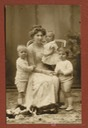 1909-1910 (based on ages of children) Ena and children