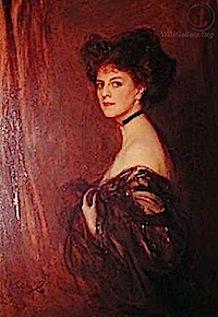 1909 Comtesse Greffulhe by Philip Alexius De Laszlo (private collection)