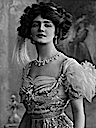 1909 Lily Elsie in the operetta The Merry Widow