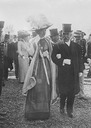 1910-1915 Ambassador Leishman and Queen of Italy at Rome Exhibition
