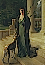 1910 Baroness Gerda von Chappuis (Mrs F. A. Konig) by Sir John Lavery (auctioned by Christie's)