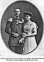 1910 Prince Friedrich Wilhelm and Agathe von Ratibor engagement
