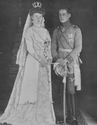 1911 Marie Saxe-Altenburg and Heinrich XXXV of Reuss wedding photo APFxSvetabel 17May11