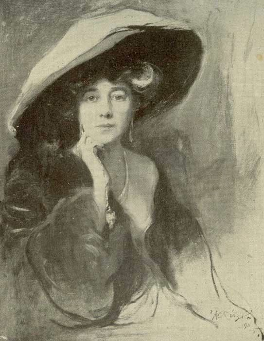 1911 Viscountess Northcliffe, née Mary Milner by Philip Alexius de Laszlo (location unknown)