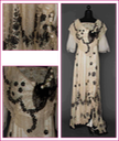 1912 Alexandra Feodorovna's trained lace evening gown black and white From augusta-auction.com-component-auctions-?view=lot&id=11415&auction_file_id=24