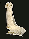1912 Lucile wedding dress with chiffon train (The Bowes Museum - Barnard Castle, County Durham UK)