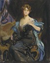 1913 Sketch of a Lady (Edith Vane-Tempest-Stewart, Marchioness of Londonderry) by Philip Alexius de Laszlo (auctioned by Christie's)