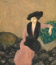 1914 Lady Asquith by Edmund Dulac (The Maas Gallery - London UK)