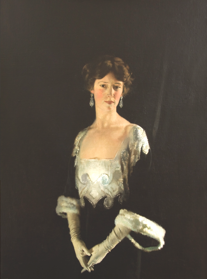 1915 (first exhibited) Rose, née Boote, Fourth Marchioness of Headfort by Sir William Orpen (auctioned by Sotheby's) slightly inc. exp