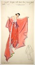1915 spring collection Remember Me dress sketch