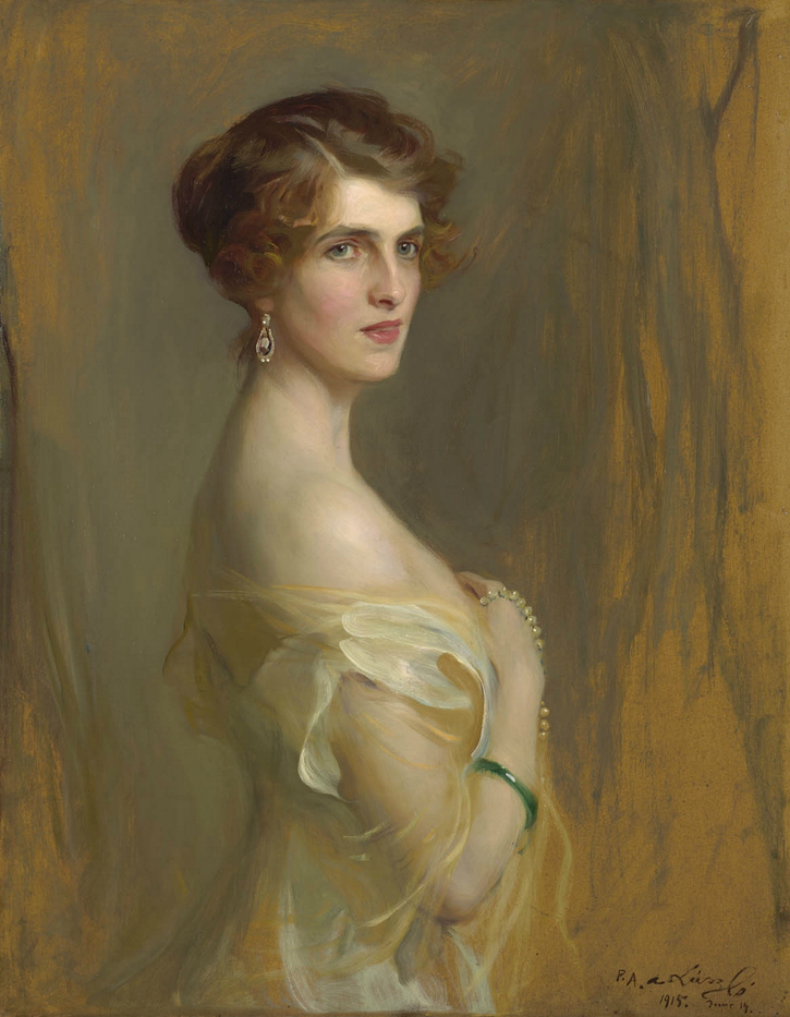 1915 Viscountess Chaplin, née Hon Gwladys Wilson by Philip Alexius de Laszlo (auctioned by Christie's) From www.richard-green.com:DesktopDefault.aspx?tabid=6&tabindex=5&objectid=433712