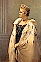 1915 Portrait of Queen Olga by Georgios Iakovidis (location unknown to gogm)