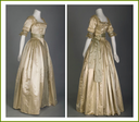 1916 Lucile wedding dress (Chicago History Museum - Chicago, Illinois USA) side and back