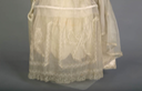 1916 Lucile wedding dress (Chicago History Museum - Chicago, Illinois USA) lace-decorated panel of skirt