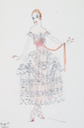 1916 Sasoulks dress design by Lucile From liveauctioneers.com/item/34311141_a-lucile-studio-fashion-sketch-of-sasoulka-a-lace