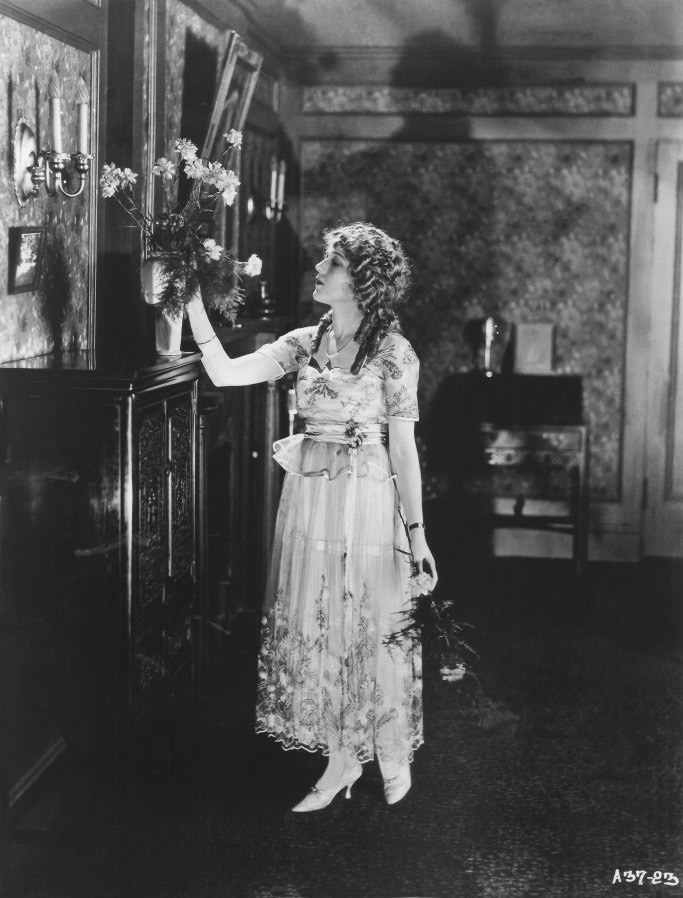 1917 Mary Pickford In A Lucile Dress Grand Ladies Gogm