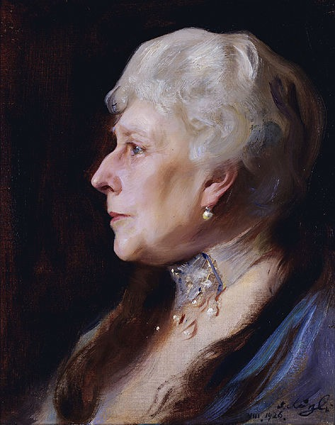 1926 Princess Beatrice by Philip Alexius de Laszlo (auctioned by Christie's) From wikiart.org