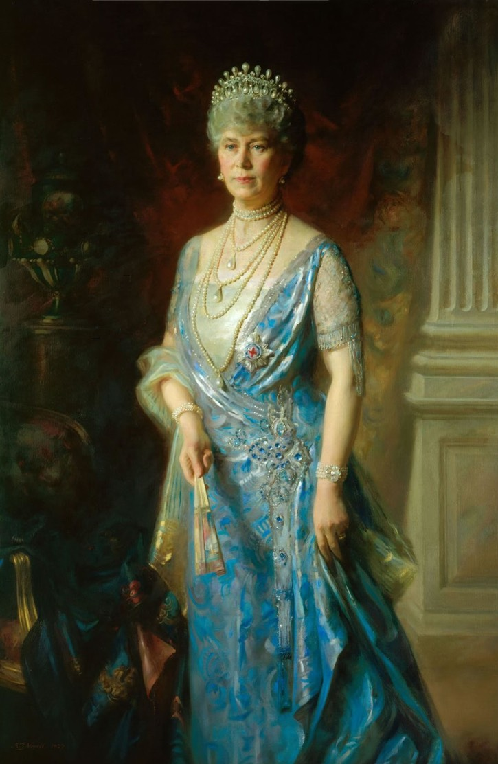 1927 Queen Mary by Arthur Trevethin Nowell (Royal Collection) From the lost gallery's photostream on flickr