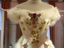 A replica of Empress Sisi's Diamond Wedding Anniversary gown bodice
