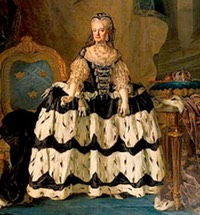 after 1771 Dowager Queen Lovisa Ulrika by Lorens Pasch (Nationalmuseum - Stockholm, Sweden)