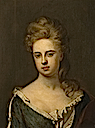 1718 (after) Lady Jane Hyde, 1st Wife of William, 3rd Earl of Essex by Sir Godrfrey Kneller (Watford Museum - Watford, Herts UK)