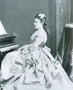 Alexandra Iosifovna at a piano