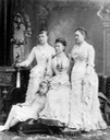 1888 (estimated) Alexandra Iosifovna with Olga and granddaughters