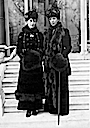 Alexandra and Maud in cold weather dress