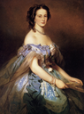 1859 Alexandra Iosifovna by Franz Xavier Winterhalter (location unknown)