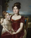 Alexandrine de Bleschamp and child by ? (location unknown to gogm) the lost gallery