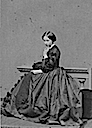 1860 Alice thinking by John Jabez Edwin Mayall