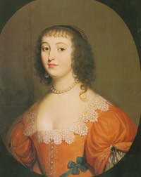 Amalia van Solms by van Honthorst (Foundation Historical Collections of the House of Oranje-Nassau)