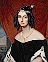 Amelia of Leuchtenberg, second wife and Empress consort of Pedro I of Brazil by ? (probably Joseph Karl Stieler) (location unknown to gogm)