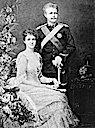 1886 Amélie and Crown Prince Carlos by Fillon