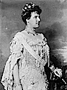 1904 Marie Amélie, Queen of Portugal black and white photo