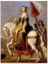 Ana de Austria attributed to Jean de Saint-Igny (Versailles)