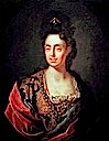 Anna Maria Luisa de Medici by Jan Frans van Douven (location unknown to gogm)