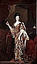 Anna Maria Luisa de' Medici holding a miniature of her husband the Elector Palatine by ? (location unknown to gogm)