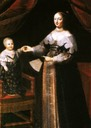 Anne of Austria and baby Louis