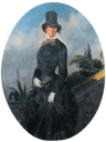 Anne Berthier Wittelsbach in equestrian dress by ? (location unknown to gogm)