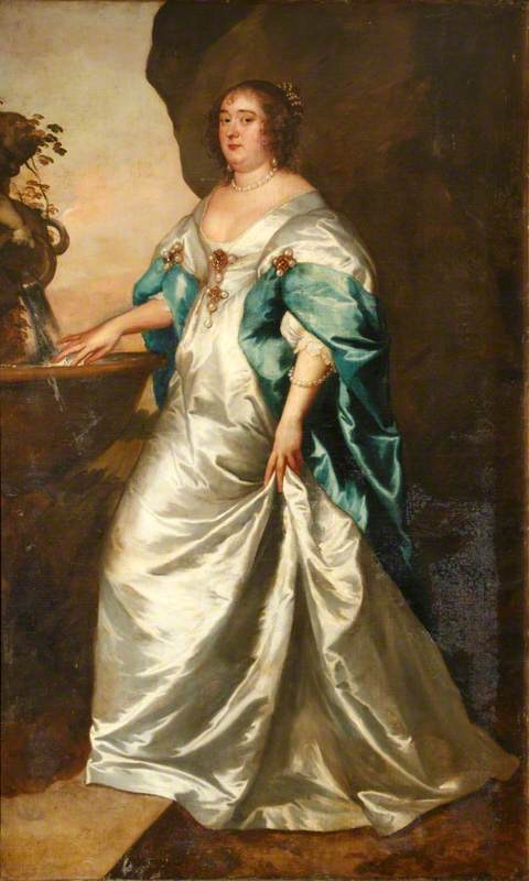 Anne Brett (c.1600-1669/1670), Countess of Middlesex