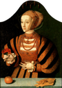 Anne of Cleves from the workshop of Barthel Bruyn the Elder (St. John's College - Oxford UK)