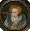 Anne of Denmark miniature by ? the lost gallery