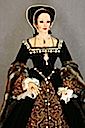 Anne Boleyn head and bodice figurine by Lady Finavon