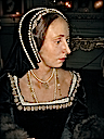 Anne Boleyn, Second Wife of Henry VIII, Waxwork at Warwick Castle