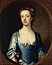 Anne Stucley (1710–1731), Mrs. Francis Luttrell of Venn (?) attributed to Enoch Seeman the younger (Dunster Castle - Dunster, Somerset UK)
